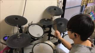 【終末のイゼッタ】【Izetta The Last Witch】OP【cross the line/AKINO with bless4】叩いてみた Drum Cover