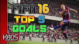 Fifa 16 top 5 goals
