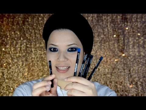 FCC Malaysia X Intan Satira Ajeerah: FCC Eye Pencil & Khol Eye Pencil Swatches
