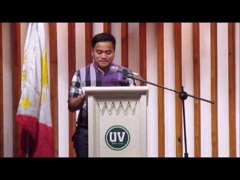 UV Press Freedom Day 2017- Atty. Ruphil Bañoc on his speech