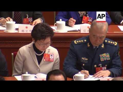 Chinese Premier Li Keqiang on military priorities