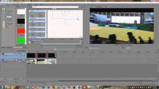 How to Add Black Bars in Sony Vegas Pro 11, 12, 13.