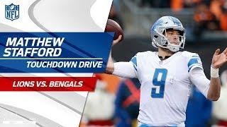 Matthew Stafford & Co. Take the Lead on TD Drive vs. Cincy! | Lions vs. Bengals | NFL Wk 16