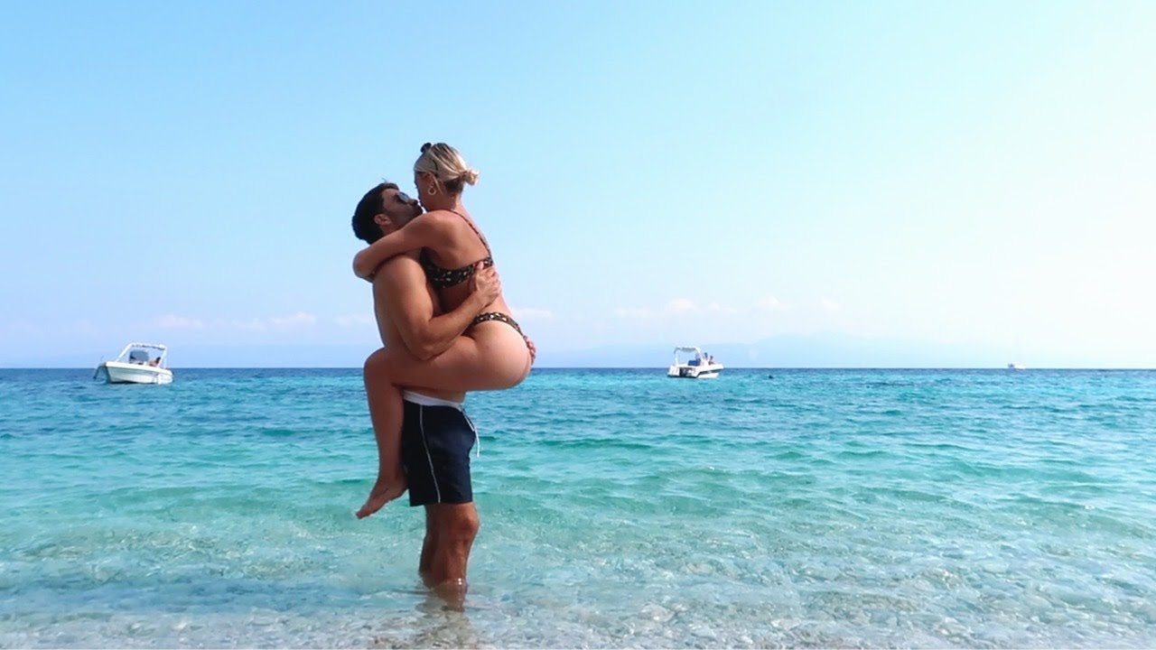 our holiday to a greek island.. we booked our wedding!