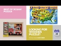 default - Melissa & Doug Vehicles 4-in-1 Wooden Jigsaw Puzzles in a Storage Box (48 pcs)