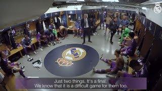 Video: Real Madrid in Kabine beim Finale der Championsleague..