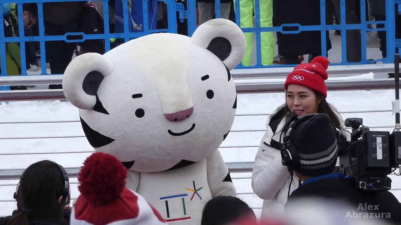 The adorable Winter Olympics mascot Soohorang. PyeongChang 2018 Olympic Games