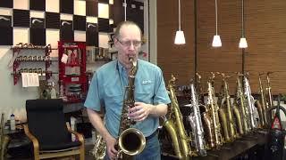 vuclip Selmer 65,xxx Mark VI tenor sax with 75,xxx neck