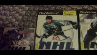 My EA Sports NHL 2000 through 2010 collection!