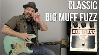90's Grunge Distortion with Big Muff PI Classic Fuzz Pedal - Nirvana,