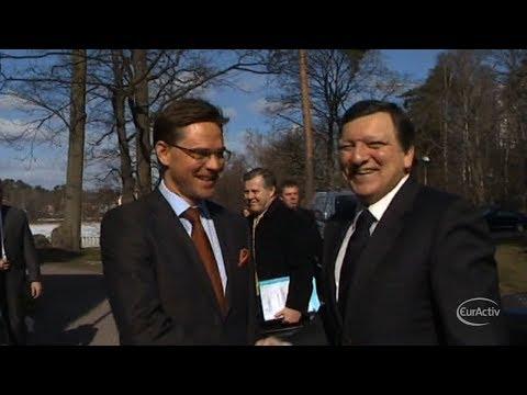 Barroso confirms former Finnish PM Katainen as Economics Commissioner