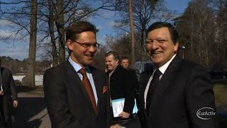 Barroso confirms former Finnish PM Katainen as Economics Commissioner