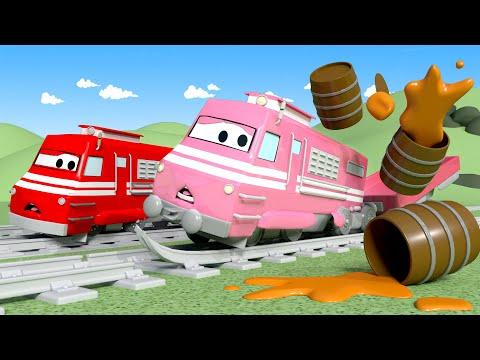 Lokomotywa Troy - miasto pociągów