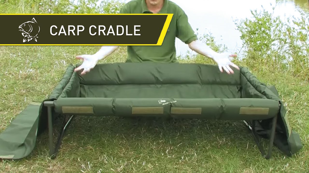 nash tv innovations monster carp cradle big carp care in hd