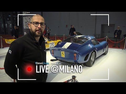 Ferrari 250 GTO, l'auto più costosa della storia | Milano AutoClassica 2017