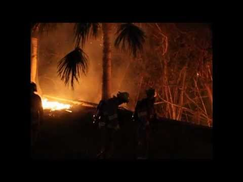 Brush Fire St Georges Bermuda November 22 2011