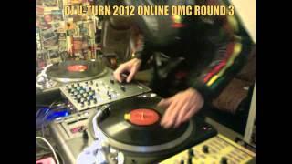 DJ U TURN 2012 ONLINE DMC ROUND 3