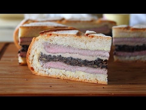 Shooter's Sandwich - Pressed Steak & Mushroom Sandwich - Great For Tailgating, Hunting & Picnics