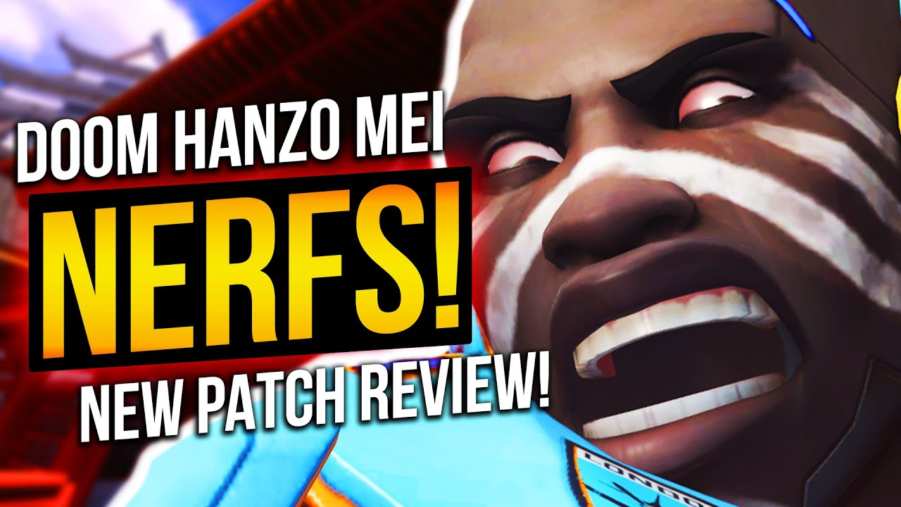 Overwatch - Doomfist DEAD?! Hanzo Orisa Mei NERFED! New Patch Review! thumbnail