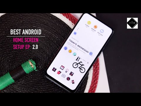 Epic Android Home Screen Setup EP 2.0 KWGT! Customise Your Android Like A Pro