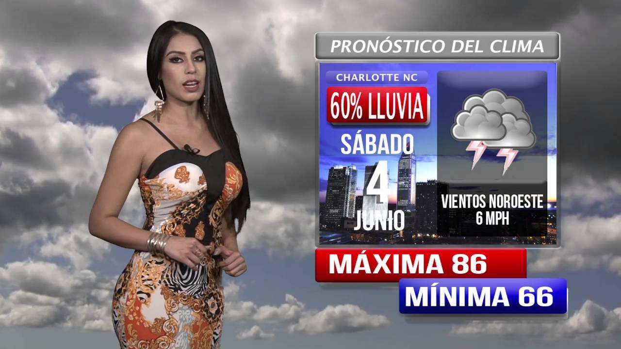 Pronostico Del Tiempo Hoy Jueves 2 Junio Youtube