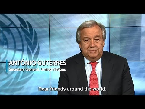 Message by UN Secretary-General António Guterres on the occasion of the 2018 New Year.
