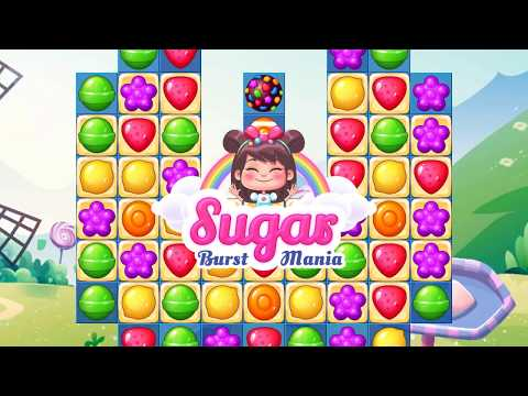 Sugar Burst Mania - Match 3: Candy Blasting Adventure - Official Trailer