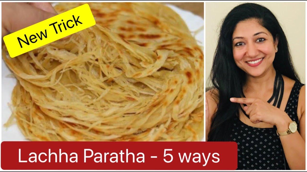 Lachha Paratha   5 आसान तरीको से बनाए लच्छा पराठे में ढेर सारे लच्छे जिनको गिन नहीं पायेंगे आप