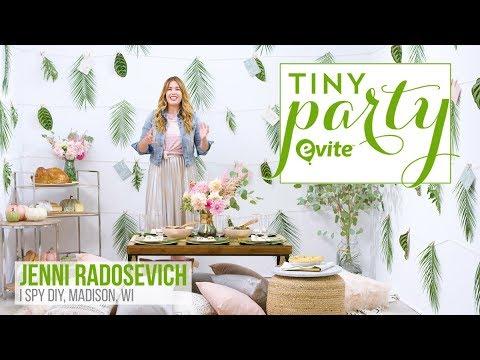 Evite Tiny Party 2017: Friendsgiving | I SPY DIY Party Breakdown