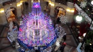 фонтан ГУМа Главный удачный магазин ч.4 предновогодний(, 2013-12-21T23:27:38.000Z)
