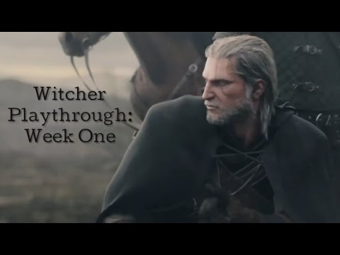 WITCHER PLAYTHROUGH | WEEK ONE thumbnail