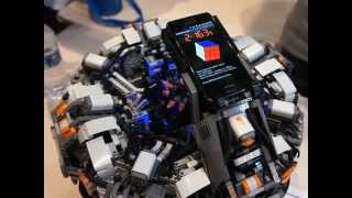 The CubeStormer 2 - World Record Rubik