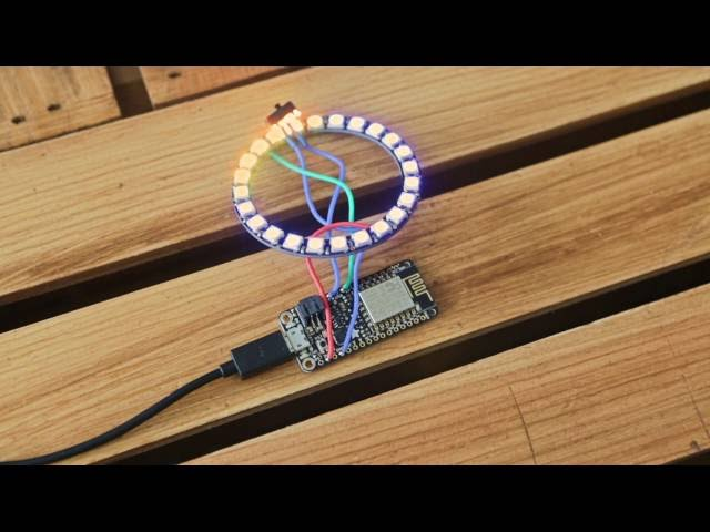 Feather Weather Lamp @ESP8266 #IoT #3DPrinting