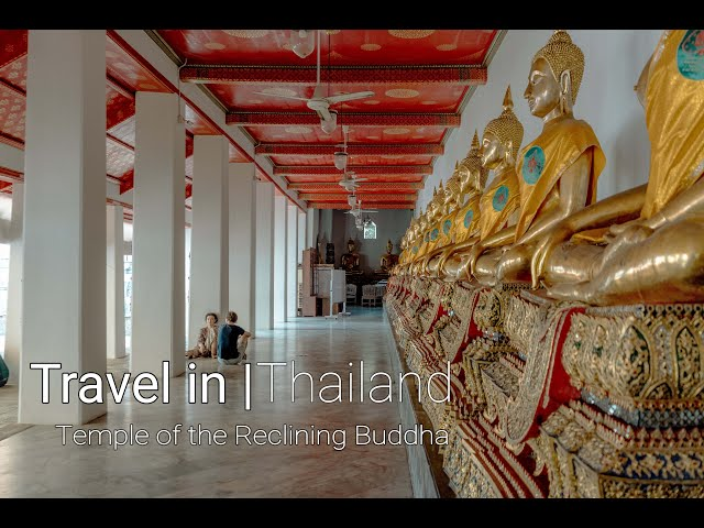 Travel in Thailand | Temple of the Reclining Buddha Wat Pho | Grand Palace Museum