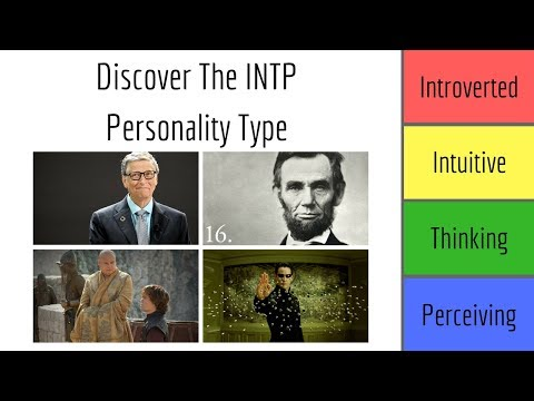 """INTP Personality Type Explained   """"The Thinker"""""""