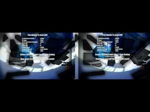 AaaaaAAaaaAAAaaAAAAaAAAAA!!! -- A Reckless Disregard for Gravity in Stereo 3D (YT3D)