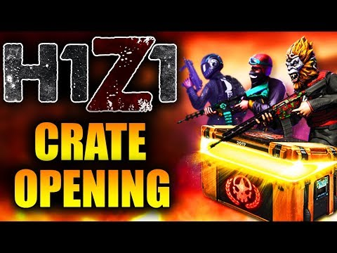 Opening 100 New H1Z1 2017 Invitational Crates! Unboxing Radek AR-15 & Imperial Shotgun (Ultra Rare)