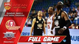 Singapore Slingers vs Chong Son Kung Fu | FULL GAME | 2017-2018 ASEAN Basketball League