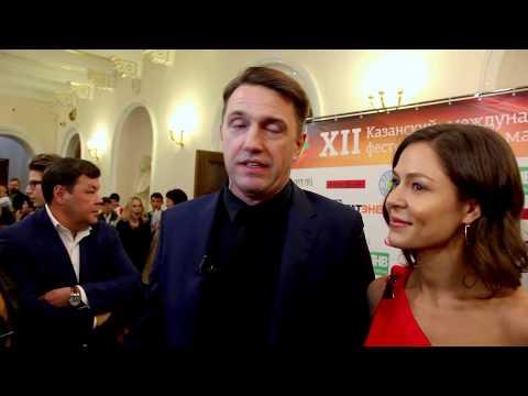 Владимир Вдовиченков и Елена Лядова На XII Казанском фестивале мусульманского кино