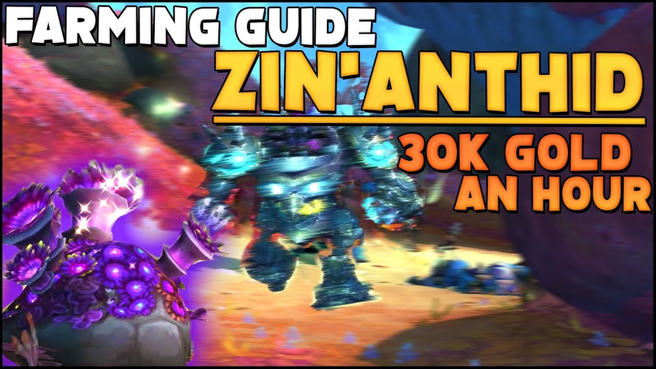 Zin'Anthid Herbalism Farming Guide - 30k + Gold An Hour