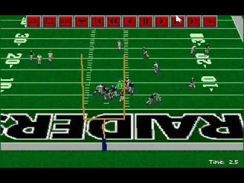 Tim Brown 93 Yard TD Catch in the Super Bowl! Sierra Front Page Sports Football Pro 95