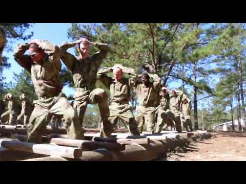 Army Basic Training: Obstacle Course (Episode 6)