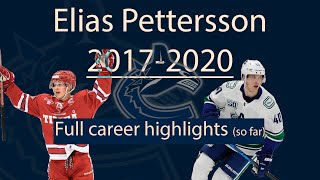 Elias pettersson highlights from Timrå to Vancouver