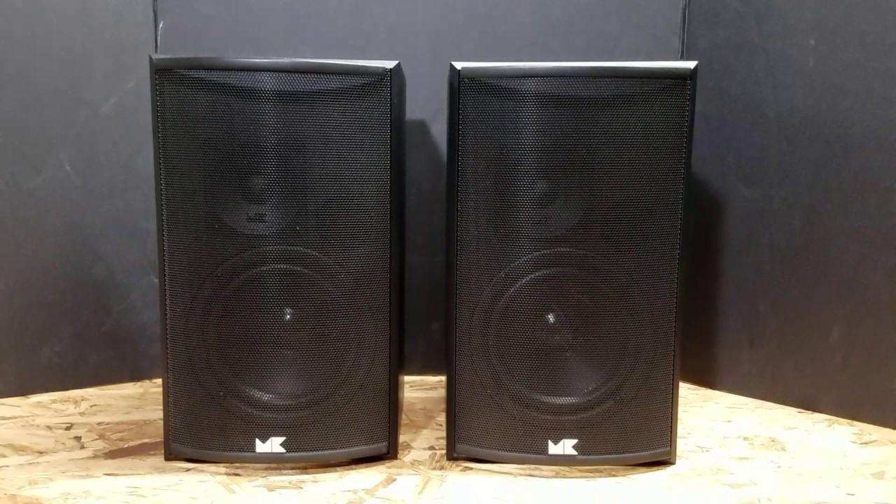 Miller And Kreisel Bookshelf 75 Speaker Test