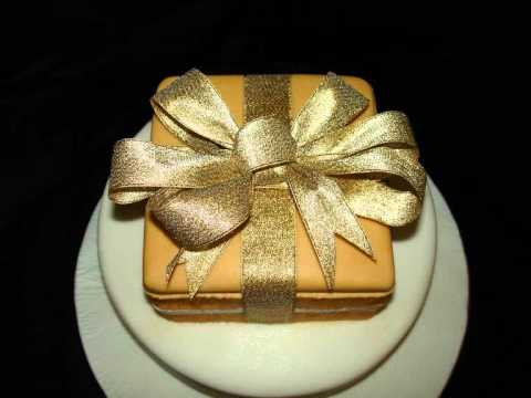 75th Birthday Fondant Cake Youtube