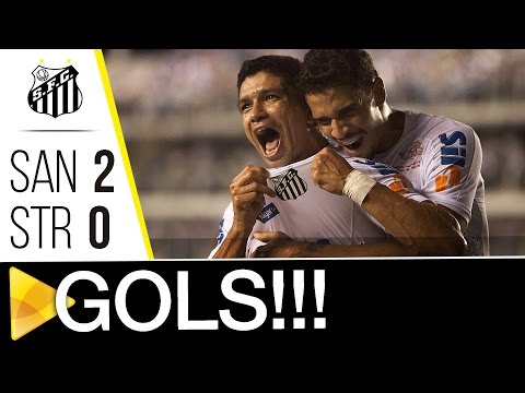 Santos 2 x 0 The Strongest | GOLS | CONMEBOL Libertadores Bridgestone (16/03/17)