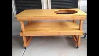 My Big Green Egg Table Project
