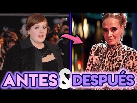 Adele | Transformación Antes Y Después | Perdida De Peso