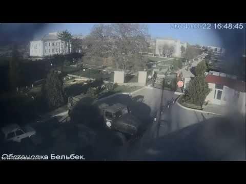 "штурм аэропорт ""Бельбек"" Russian troops storm Ukraine airbase in Crimea"