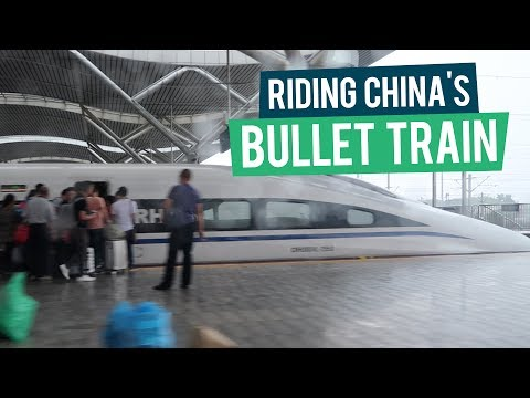 Riding the Bullet Train in China - China Travel